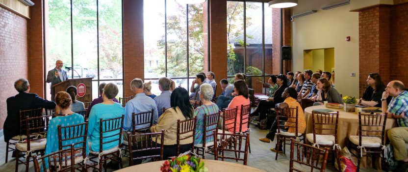 Andrew Sullivan Visits Honors Faculty
