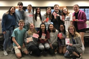 Valentine Cards Sent to Donors