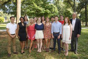 Seventeen Freshmen Awarded $130,750