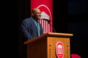 Honors Spring Convocation Welcomes Kiese Laymon